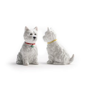 Westie Salt and Pepper Shaker