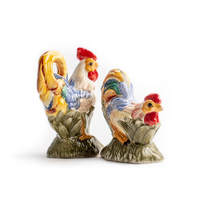 Blue Rooster Salt and Pepper Shaker