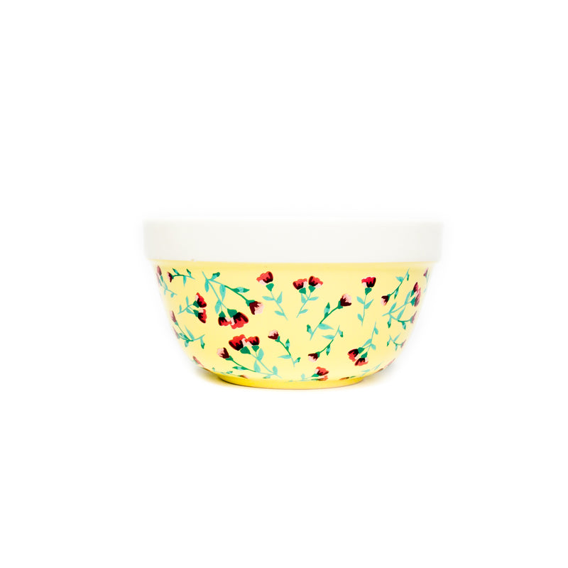 Yellow Ditsy Mixing Bowl