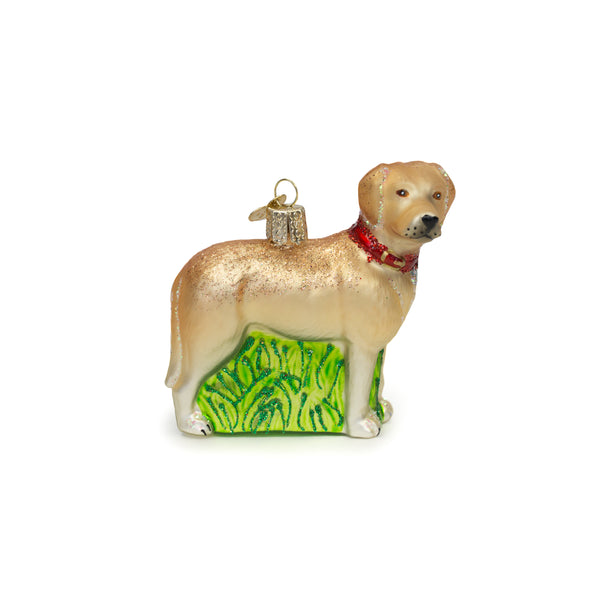 Standing Yellow Lab Ornament - The Pioneer Woman Mercantile