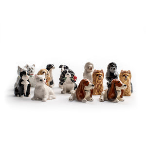 Border Collie Salt and Pepper Shaker