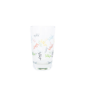 """I Like You"" Juice Glass"
