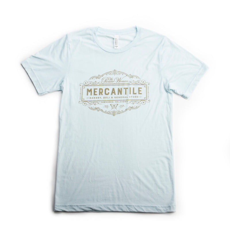 Ice Blue Official Merc Logo Tee