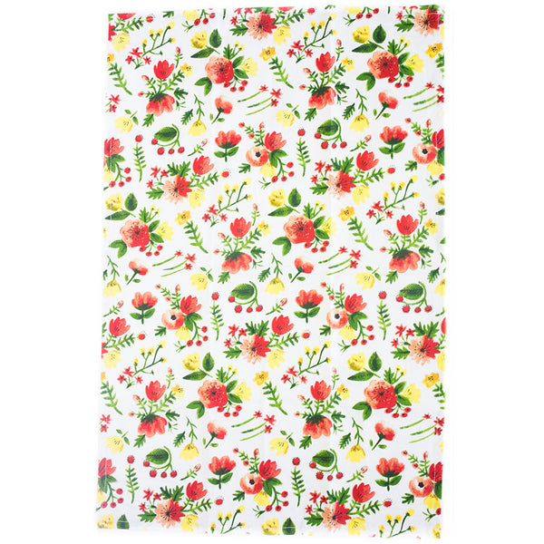 Midnight Garden Dishtowel