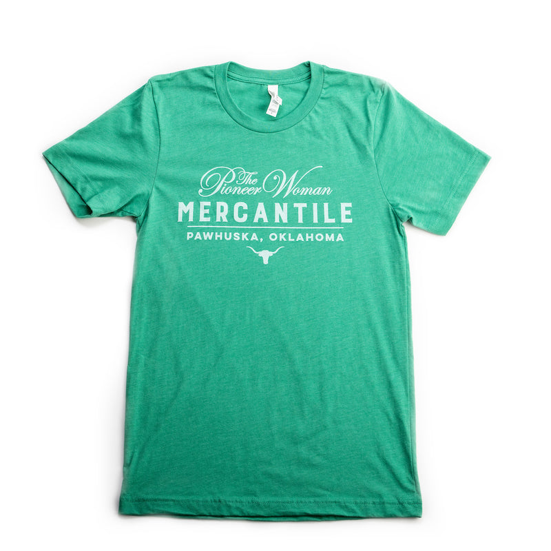 Green Steerhead Merc Tee