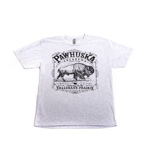 Heather White Pawhuska Bison Shirt - The Pioneer Woman Mercantile