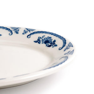 Small American Rose Blue Platter