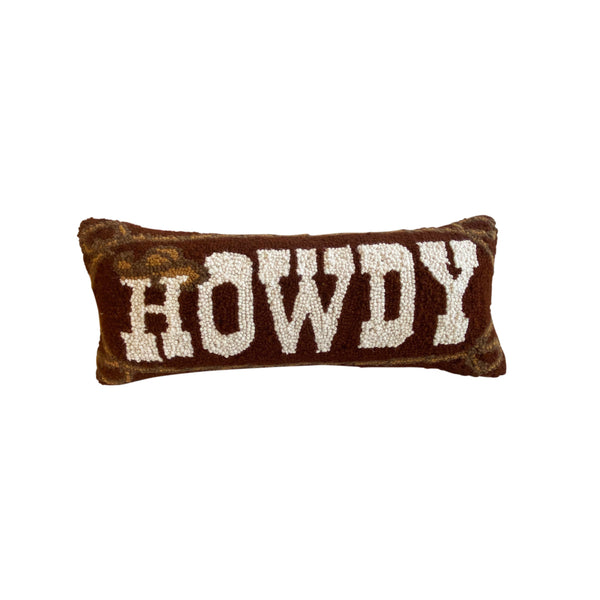 Howdy Cowboy Pillow