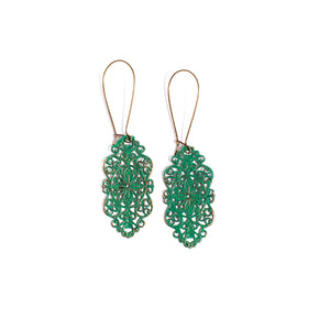 Jade Loverly Earrings - The Pioneer Woman Mercantile