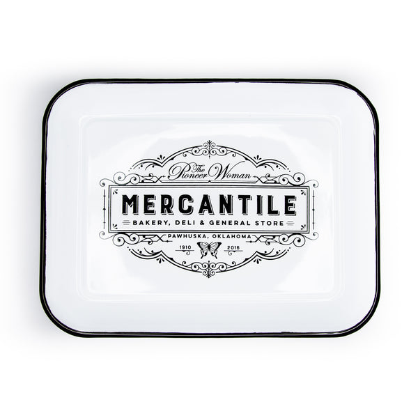 Mercantile Enamel Tray - The Pioneer Woman Mercantile
