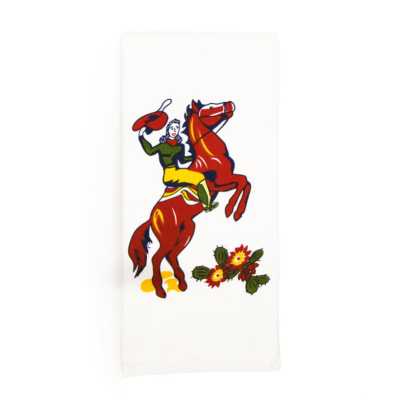 Cowgirl Callie Kitchen Towel - The Pioneer Woman Mercantile