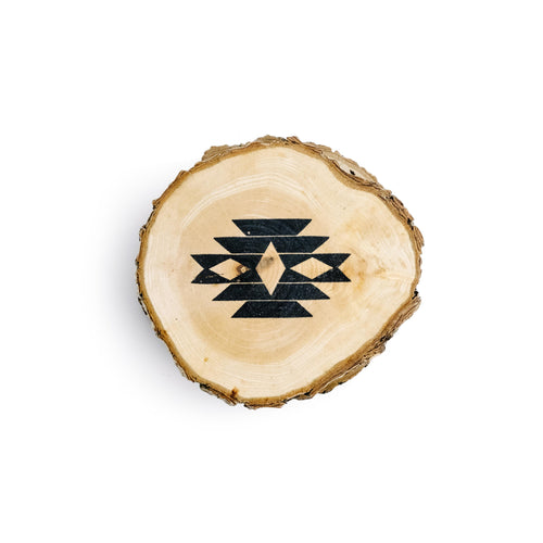 Navajo Wood Coaster Set