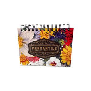 Floral Mercantile Spiral Journal
