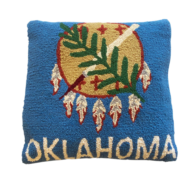 Oklahoma Flag Pillow