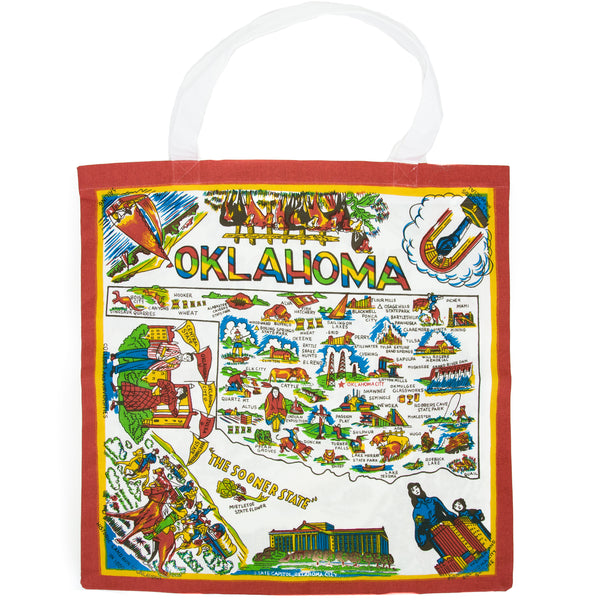 Oklahoma Map Tote - The Pioneer Woman Mercantile