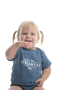 Indigo Basset Onesie - The Pioneer Woman Mercantile