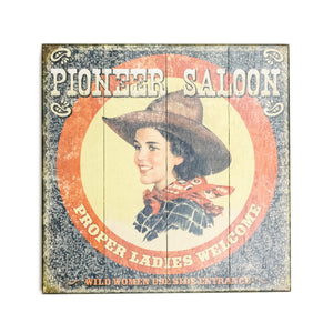 """Pioneer Saloon"" Wood Sign - The Pioneer Woman Mercantile"