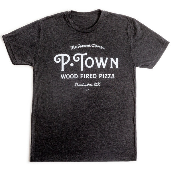 Vintage Black P-town Pizza Shirt