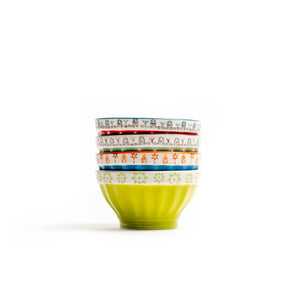 Patterned Colorful Bowls