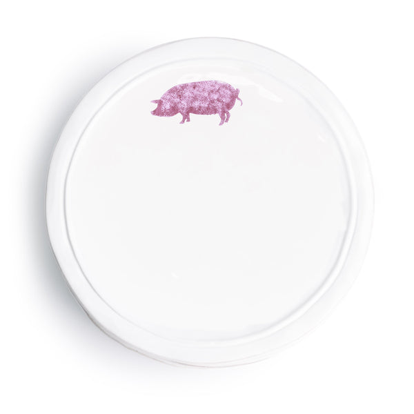 Ceramic Pig Plate - The Pioneer Woman Mercantile