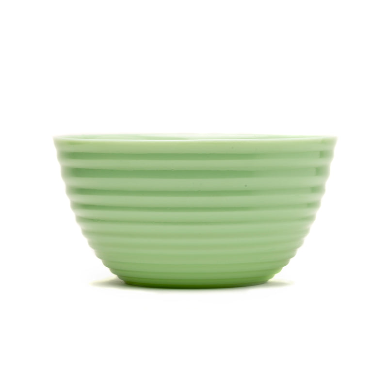 PW Timeless Beauty 10 in Ribbed Jade Bowl