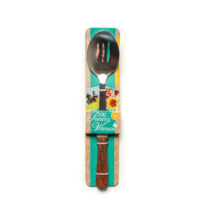 Cowboy Rustic Signature Slotted Spoon - The Pioneer Woman Mercantile
