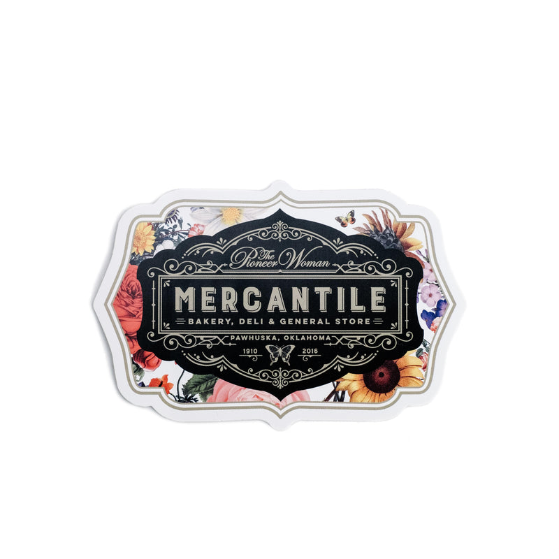 Mercantile Sticker - The Pioneer Woman Mercantile
