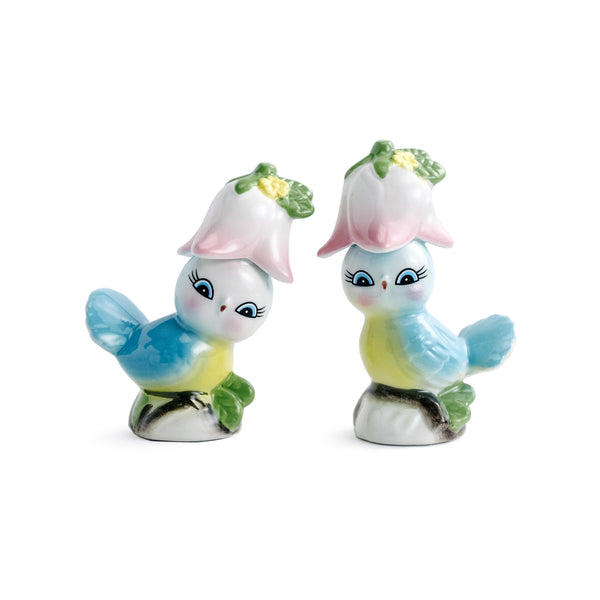 Bluebird Salt & Pepper Set - The Pioneer Woman Mercantile