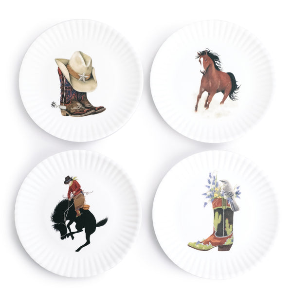 Western Appetizer Plates - The Pioneer Woman Mercantile