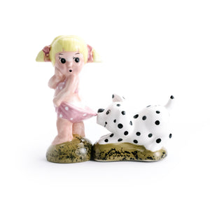 Girl and Dog Salt & Pepper Shaker - The Pioneer Woman Mercantile