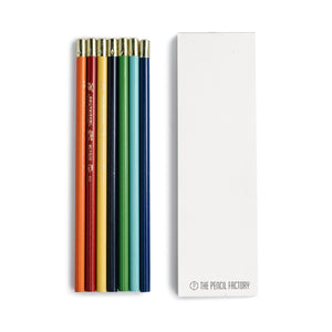 Colored Pencils (Set of 7 with Notepad)
