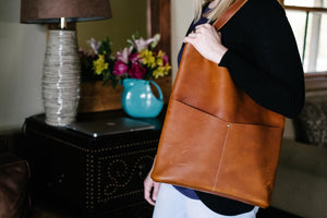 The Pioneer Woman Leather Tote - The Pioneer Woman Mercantile