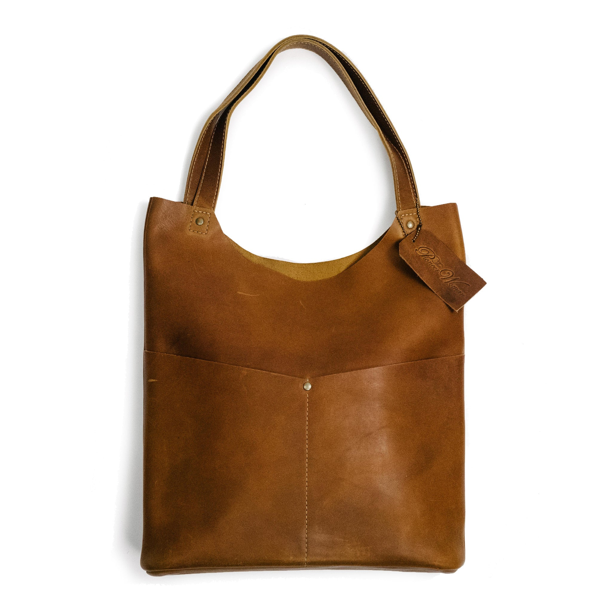 The Pioneer Woman Leather Tote Mercantile