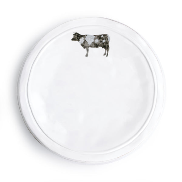 Ceramic Cow Plate - The Pioneer Woman Mercantile