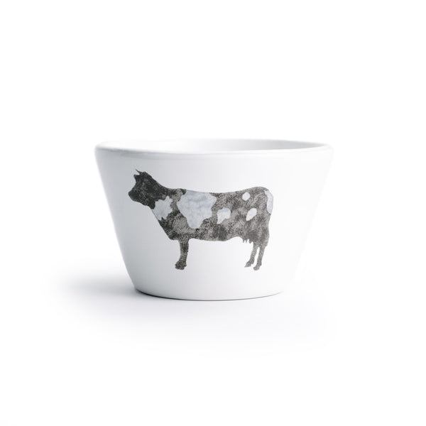 Ceramic Cow Ramekin