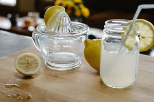 Pressed Glass Juicer - The Pioneer Woman Mercantile