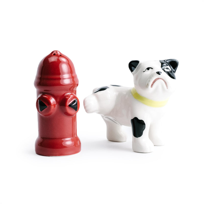Dog & Hydrant Salt & Pepper Set - The Pioneer Woman Mercantile