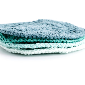 Round Crocheted Coasters