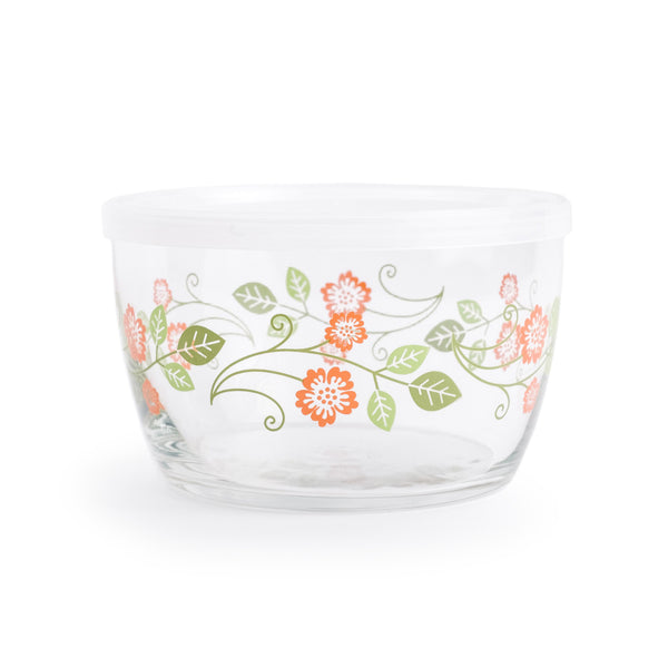 Food Storage Bowl: Orange Flower - The Pioneer Woman Mercantile
