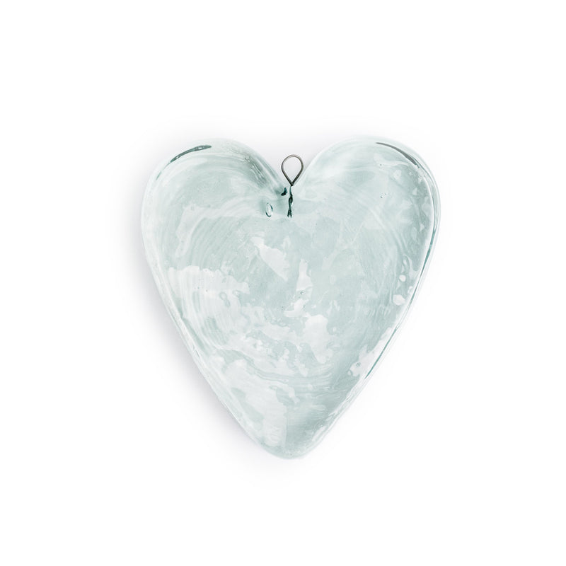 Glass Heart Suncatcher