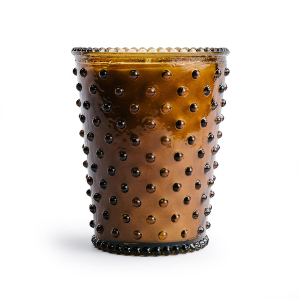 Tea Hobnail Candle