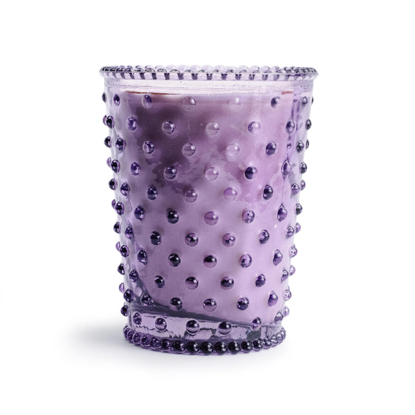 Lilac Hobnail Candle