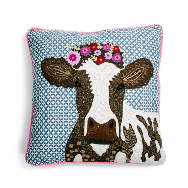 Cow Couture Cushion - The Pioneer Woman Mercantile
