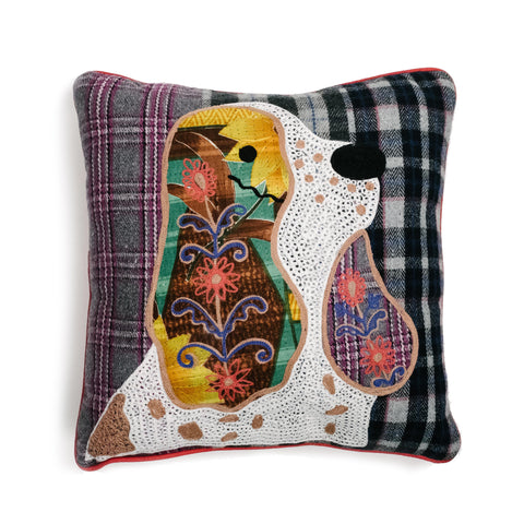 Embroidered Hound Dog Pillow - The Pioneer Woman Mercantile