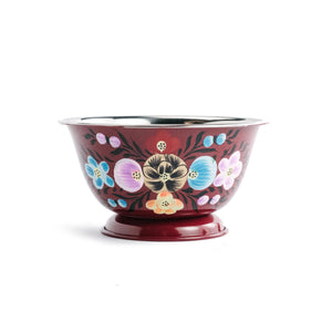 Enameled Floral Bowl - The Pioneer Woman Mercantile
