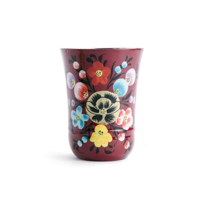 Enameled Floral Tumbler - The Pioneer Woman Mercantile