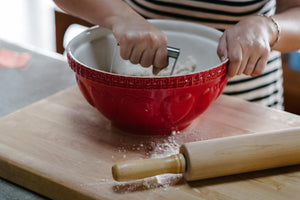 Mason Cash Hearts Mixing Bowl - The Pioneer Woman Mercantile