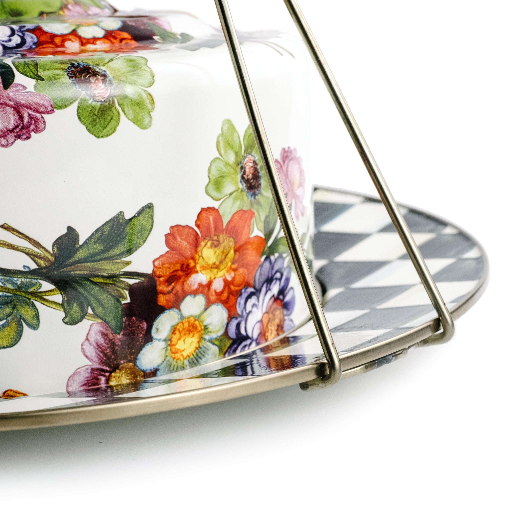 Mackenzie-Childs Floral Cake Carrier – The Pioneer Woman Mercantile