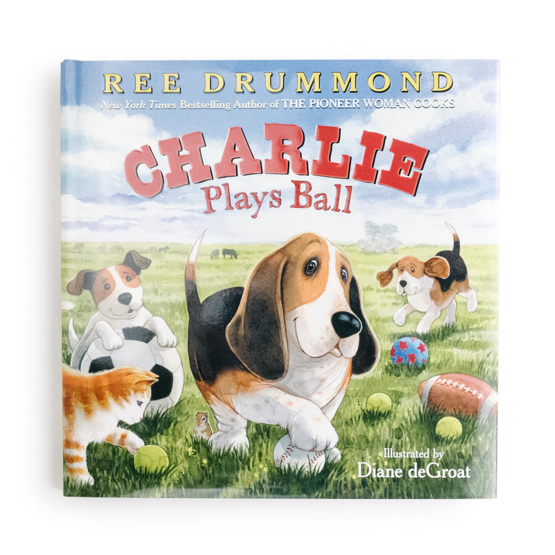 Charlie Plays Ball - The Pioneer Woman Mercantile