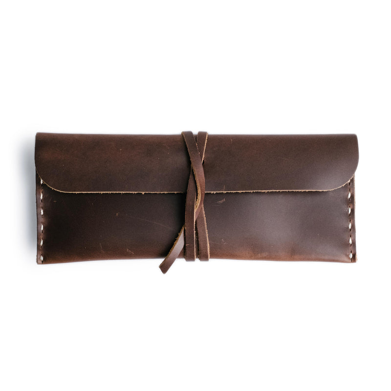 Leather Stowaway Pouch